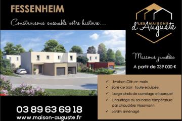 Maison clé en main à Fessenheim