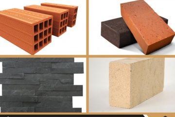 Quelles types de briques existe-t-il pour construire une maison ?